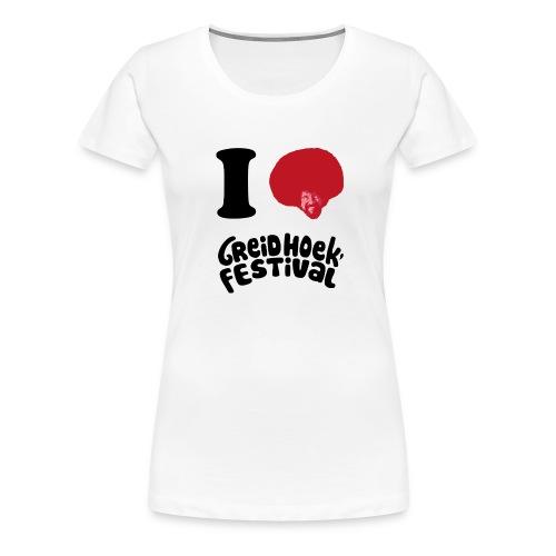 i love greidhoek - Vrouwen Premium T-shirt