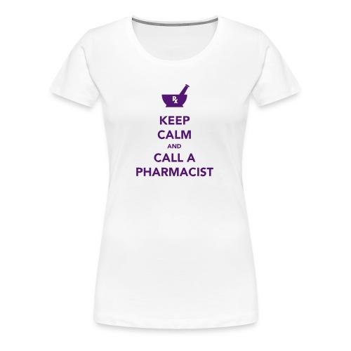 Keep Calm - Pharma - Women's Premium T-Shirt