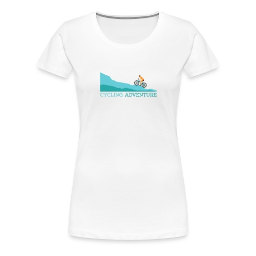 cycling (4) - Frauen Premium T-Shirt