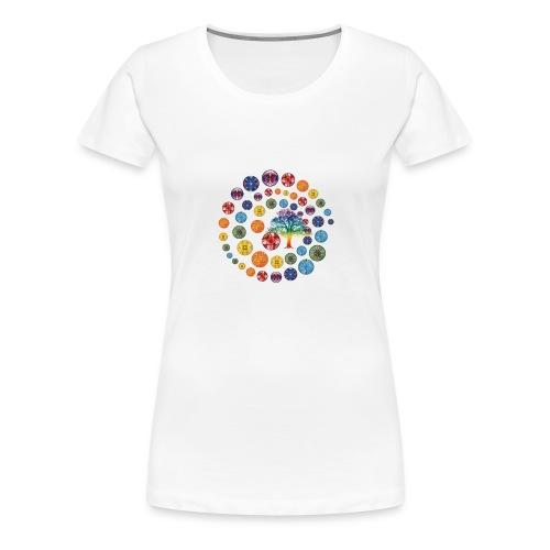 Espiral de Chakras - Camiseta premium mujer