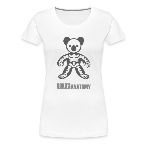 Koko Anatomie - Frauen Premium T-Shirt
