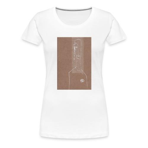 Face_Phone - Premium-T-shirt dam