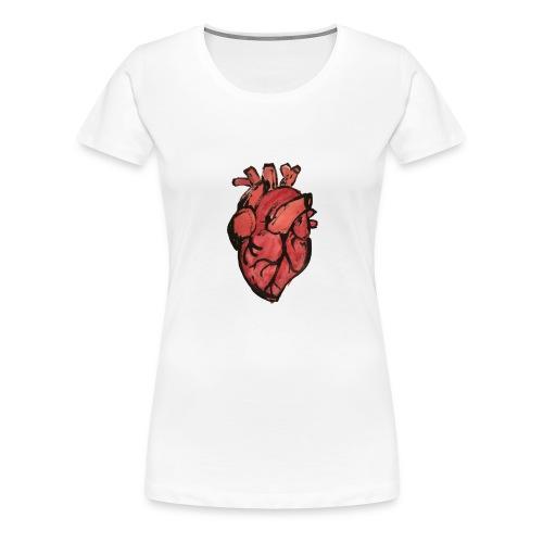 Heart - Vrouwen Premium T-shirt