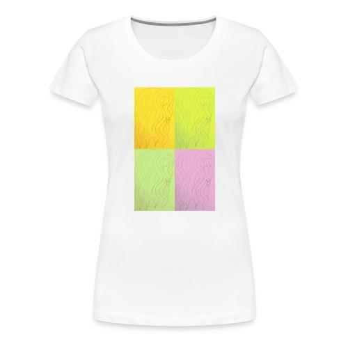curls - Camiseta premium mujer