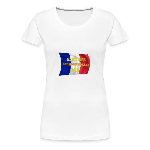 ELECTIONS 2017 - T-shirt Premium Femme