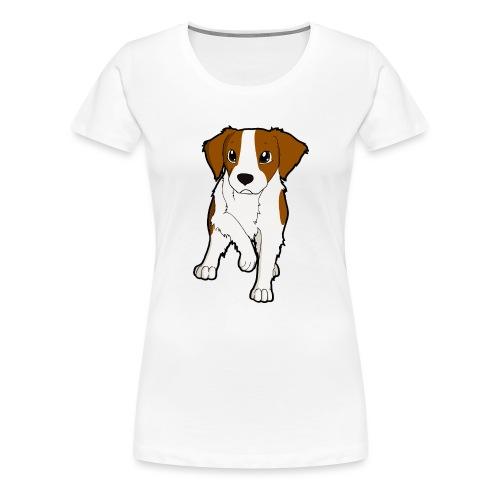 Breton bianco rosso - Maglietta Premium da donna