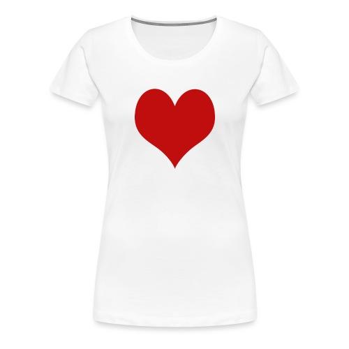 Love&Love - Maglietta Premium da donna