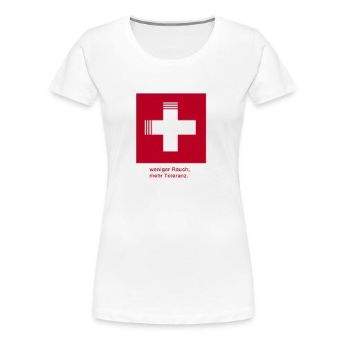 rauch 2 - Frauen Premium T-Shirt