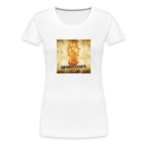 Resistansen Logo - Premium T-skjorte for kvinner