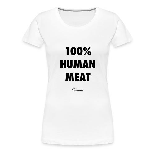 human - T-shirt Premium Femme