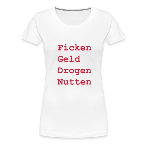 mushiflo name shirt back - Frauen Premium T-Shirt