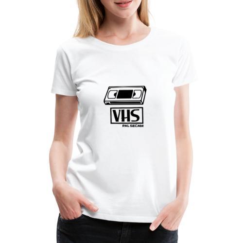 VHS Video Casette - Women's Premium T-Shirt