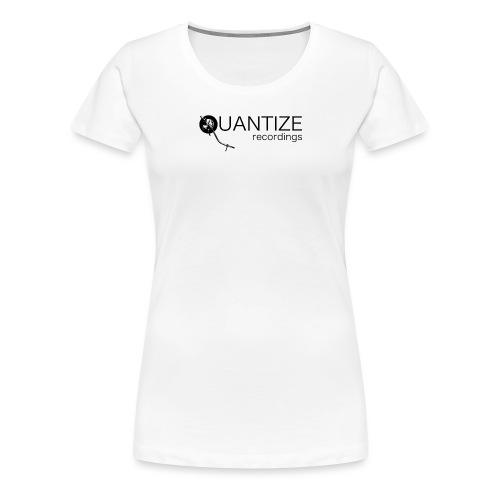 Quantize Black Logo - Women's Premium T-Shirt