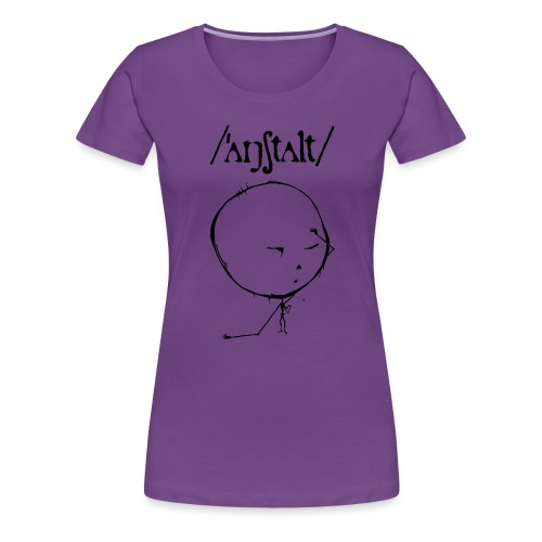 logo mit kreisling - Frauen Premium T-Shirt