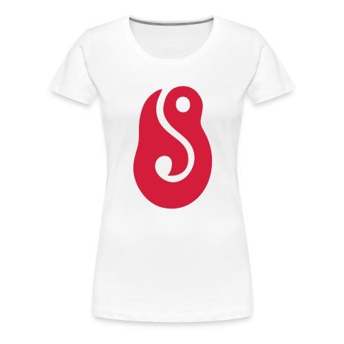 hook, lucky, lures - Women's Premium T-Shirt