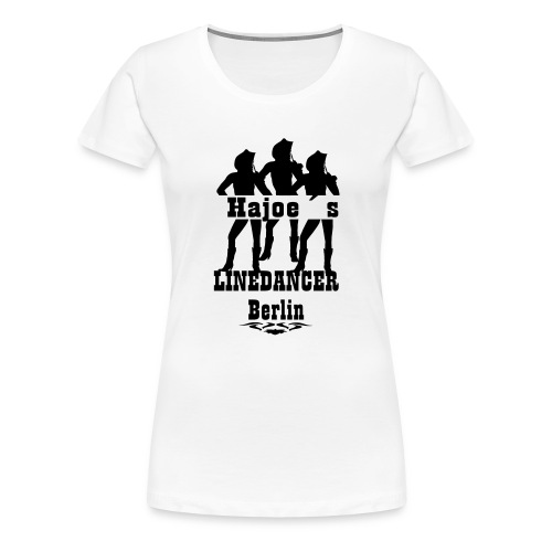 Hajoes LineDancer Berlin - Frauen Premium T-Shirt