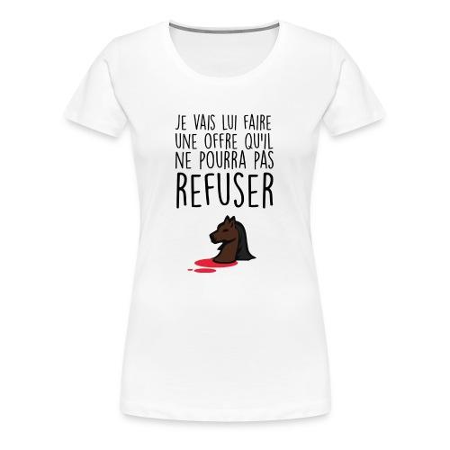 Débardeur homme Le Parrain - T-shirt Premium Femme