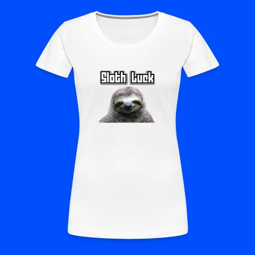 Sloth Luck - Women's Premium T-Shirt