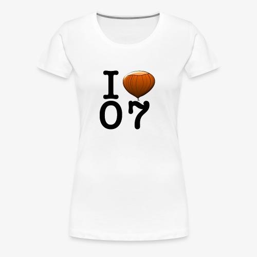I Love 07 - T-shirt Premium Femme