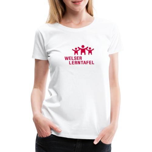Welser Lerntafel - Frauen Premium T-Shirt