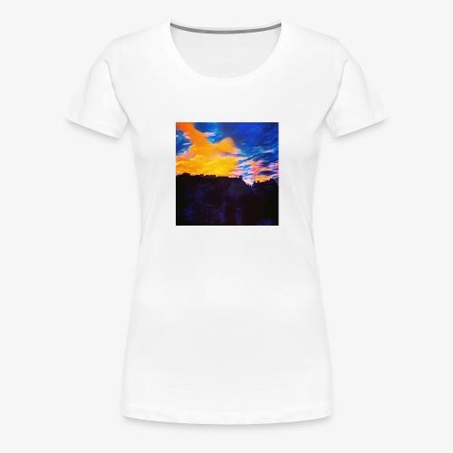 Artistic Sunset - Maglietta Premium da donna