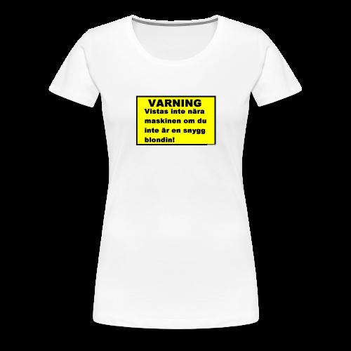 skal till HTC - Premium-T-shirt dam