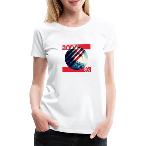 NEW WAVE 80s - Frauen Premium T-Shirt
