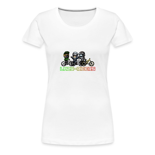 LAZY-RIDERS - Frauen Premium T-Shirt