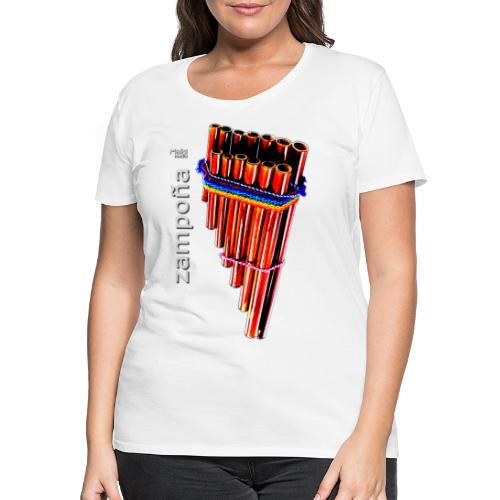 Zampoña - Frauen Premium T-Shirt