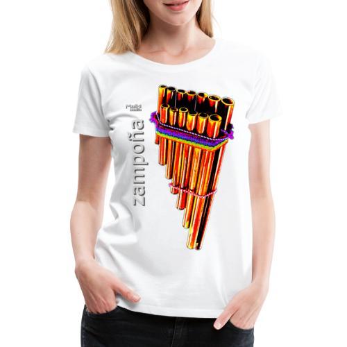 Zampoña Clara - Frauen Premium T-Shirt