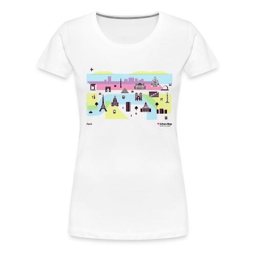 Paris City - Women's Premium T-Shirt