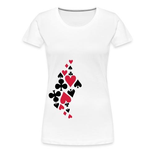 spades - Premium T-skjorte for kvinner