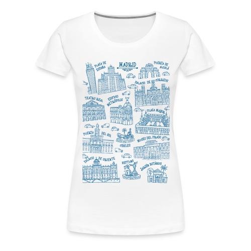 MADRID MONUMENTAL - Camiseta premium mujer