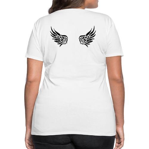 Nicht alle Engel werden als solche geboren! - Frauen Premium T-Shirt