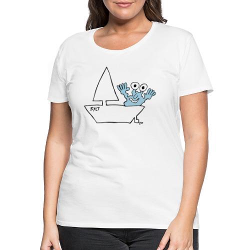 Segelmonster Sylt - Frauen Premium T-Shirt