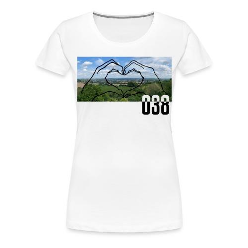 038 Shirt - Frauen Premium T-Shirt