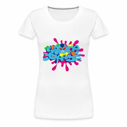 SpaceOkayR - Frauen Premium T-Shirt