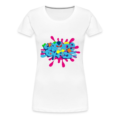 SpaceOkayR - Frauen Premium T-Shirt