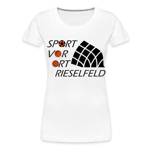 SvO Rieselfeld bunt - Frauen Premium T-Shirt