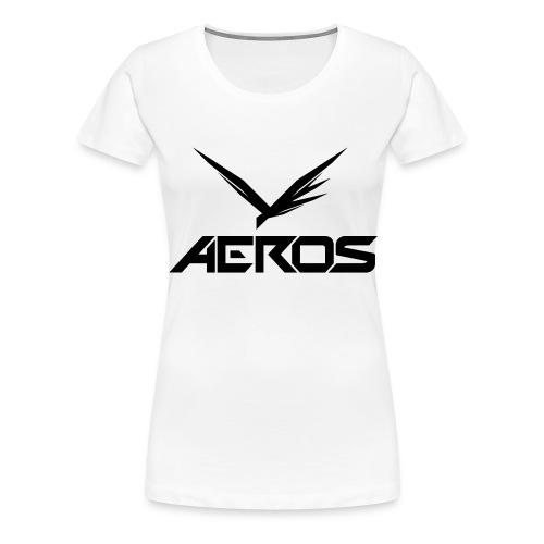 Aeros LOGO 2016 final - Vrouwen Premium T-shirt