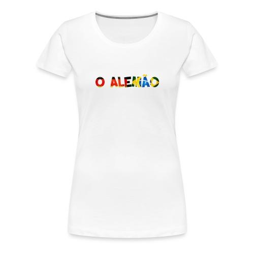 O ALEMAO - Frauen Premium T-Shirt