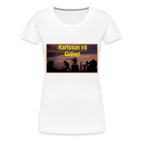Karlsson på Golvet! (HERR) - Premium-T-shirt dam