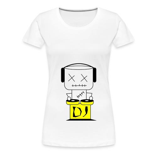 DJ Puppet XL - Frauen Premium T-Shirt