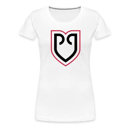 Rollapaluza Logo for use on white - Women's Premium T-Shirt