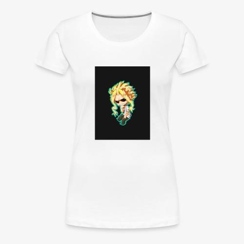 Mug All Might - T-shirt Premium Femme