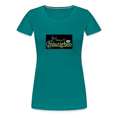 Imazighen ithran rif - Vrouwen Premium T-shirt