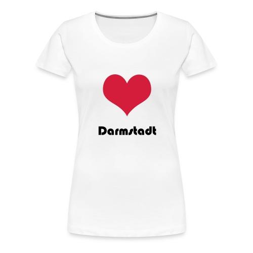 darmstadt - Frauen Premium T-Shirt