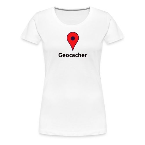 Geocacher - Frauen Premium T-Shirt