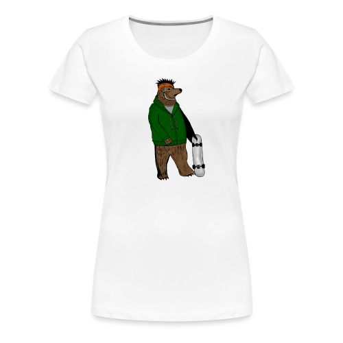 Skate Bjorn - Women's Premium T-Shirt
