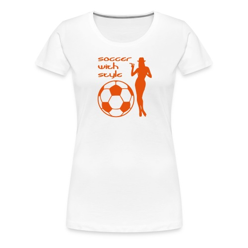 Soccer with Style 2C - Vrouwen Premium T-shirt